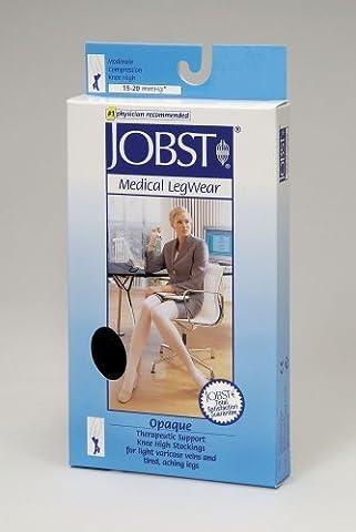 Women's Opaque Knee High 15-20 mmHg Support Sock Size: Medium, Color: Honey by Jobst