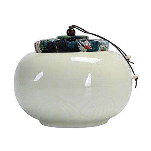 Chinesische Tee / Kaffee Container Keramik Topf S??igkeiten / Snacks / Cookies Topf Lagerung Flaschen NO.11