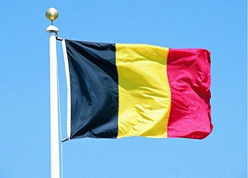 Runfon 150 x 90 cm Belgien Flagge Fahne Belgien