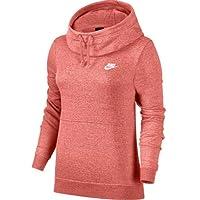 Nike W NSW Fnl FLC Sudadera, Mujer, (sunblush/htr), M