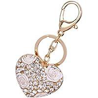 Amazon.fr   coeur blanc - Porte-clés   Bijoux et cosmétique   Jeux ... 30ce7693200