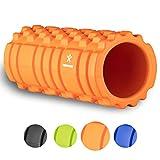 BODYMATE Faszienrolle Premium inklusive E-Book zur Triggerpunkt-Selbstmassage - Massage-Rolle myofasziales Training - Gymnastik-Rolle Verklebungen und Muskelbeschwerden - Fitness-Rolle Rücken Beine