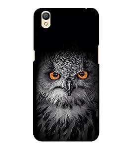 EPICCASE Intense Owl Mobile Back Case Cover For OPPO A37 (Designer Case)
