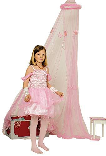 K31250383-98-104 rosa Kinder Prinzessin Elfenkostüm Feenkleid Gr.98-104
