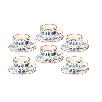 Confezione 6 tazze caffè