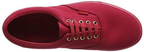 Vans U Era VQFK62D, Unisex - Erwachsene Sneaker Rot ((gold Mono) Crimson)