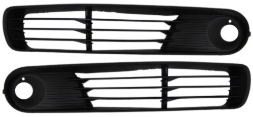 pontiac-g6-05-09-right-left-pair-set-grille-lower-w-fog-coupe-conv-sedan-by-auto-lighthouse