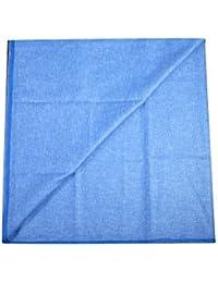 Kundan Sulz Gwalior Men's Executive Cotton Blended Linen Shirt Piece ( 1 Shirt Piece for Men )