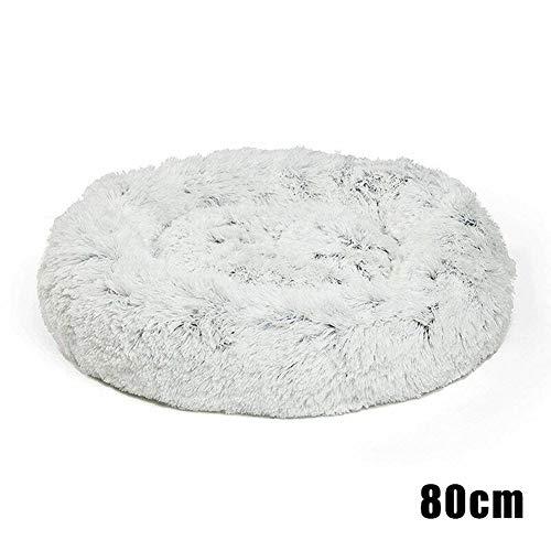 Cutogain Shag Faux Fur Donut Cuddler Katzenbett Warm Plüsch Hund Welpen Mat Pet Bett