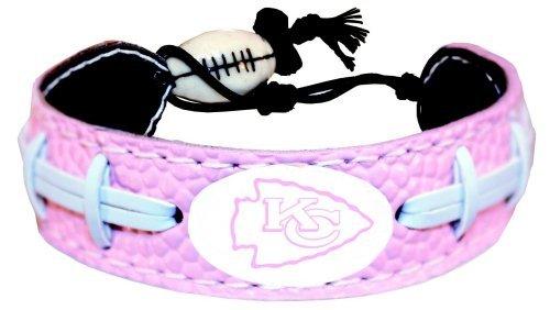 GameWear Kansas City Chiefs Pink Fußball Armband