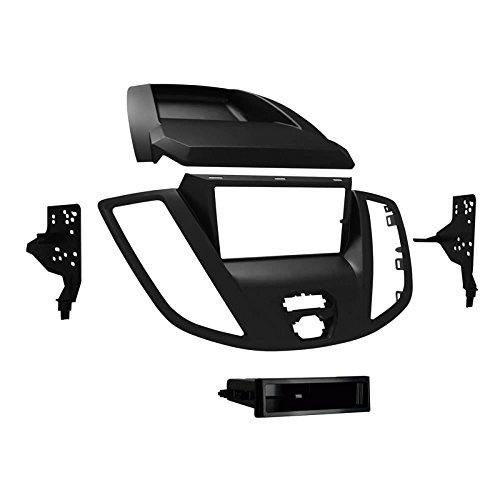 Metra 99-5832G Radiohalterung 1 DIN / 2 DIN Einbau-Kit für Ford Transit ab 2015, grau (Aftermarket Auto-konsole)