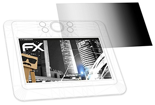 atFoliX Blickschutzfilter für XP-Pen Star G540 Blickschutzfolie - FX-Undercover 4-Wege Sichtschutz Displayschutzfolie