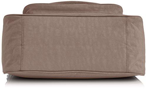 Kipling SUNITA K12840 Damen Umhängetaschen 31x21x14 cm (B x H x T) Gris (Warm Grey_828)