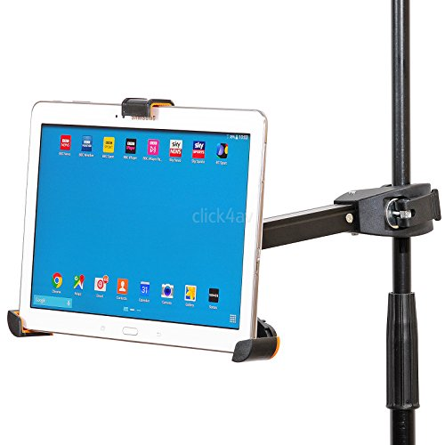 supporto tablet asta microfono Supporto per iPad o tablet