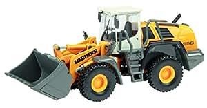Schuco - SCHU25801 - Véhicule Miniature - Tracteur Charger Pelle Liebherr 550 2plus2 - Echelle 1 / 87