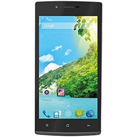 Trevi Phablet 5Q2 8GB Nero-Smartphone Dual SIM Android, GSM/EDGE/HSPA/UMTS, WCDMA, Micro-USB Stick)