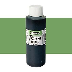 Pinata Vert citron Alcool d'encre qui par Jacquard, professionnel et polyvalente d'encre qui Produit Colour-saturated et sans acide des Résultats, 4onces, Made in the USA