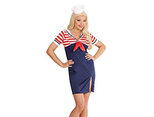 Widmann 75802 Erwachsenenkostüm Sailor Girl, 38 (Sailor Girl Kostüm Kinder)