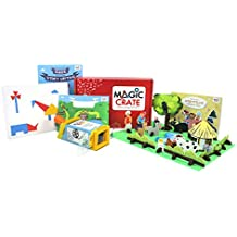 Magic Crate Activity Kit for6-8-year-olds: Little Storyteller ( Contains 3 Activities and a Storybook)