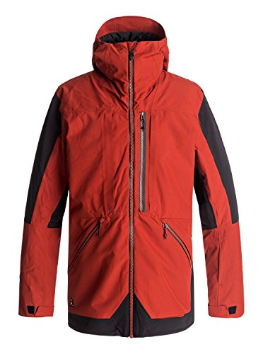 Quiksilver TR Stretch - Snow Jacket for Men - Snow Jacke - Männer - L - Rot