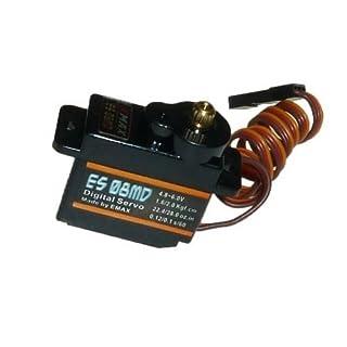 Adapter-Universe Emax ES08MD Metal Gear Digital Servo RC Servo Micro 12 g 0,08s 2.4 kg