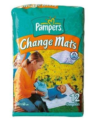 Pampers Change Mats–12Stück normal