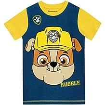 Paw Patrol - Camiseta para niño Paw Patrol Rubble