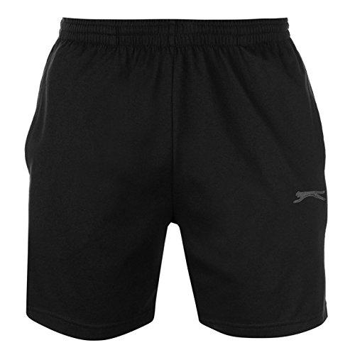 Slazenger Hombre Jersey Pantalones Cortos Shorts Negro