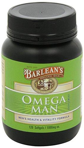 3x pack Barlean's Omega Man, 120 ct. softgels