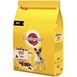 PEDIGREE Dry Dog Food Small with Chicken, 2.7kg Pack of 3