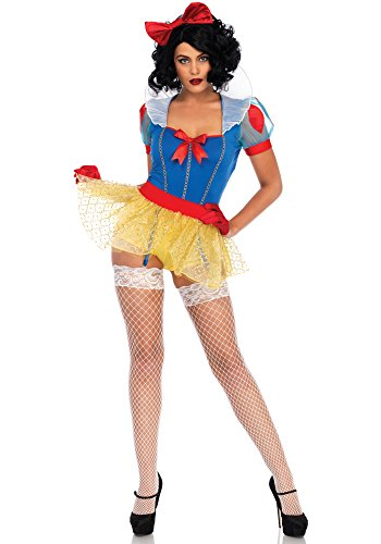 xy Miss Snow Kostüm, Mehrfarbig, Medium (EUR 38) ()