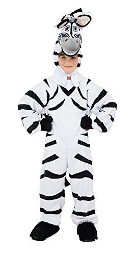 Kinder Overall Tier Safari Zebra Gr.128 Jungen Mädchen Kostüm