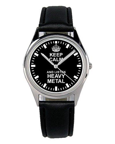 Geschenk für Heavy Rocker Metal Musik Uhr B-2269 (Rocker Uhr)