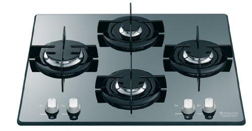 Hotpoint TD 640 S (ICE) IX/HA Incasso Gas Grigio piano cottura