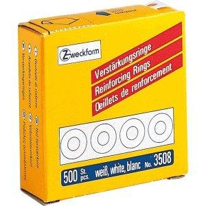 Avery Zweckform 10 x Lochverstärkungsringe weiß VE=500 Stück