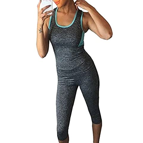 BEILIHONG Damen Women Athletic Sport Fitness Yoga Outfit Exercise Gym