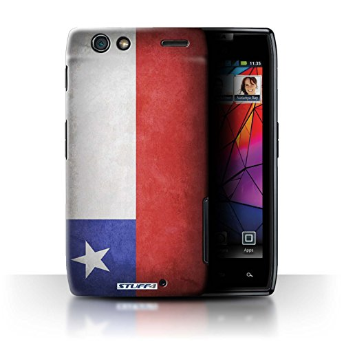 Stuff4 Hülle / Hülle für Motorola RAZR Maxx / Chile/Chiliean Muster / Flagge Kollektion