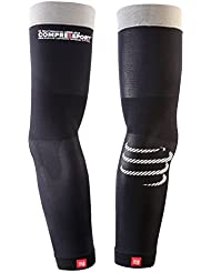 Compressport Kompressionsarmling ProRacing Armsleeve - Guantes de esquí para hombre, color negro, talla M