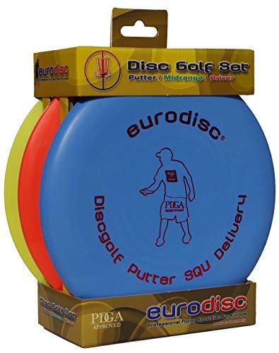Eurodisc Discgolf Einsteiger-Set, Putter - Midrange - Driver
