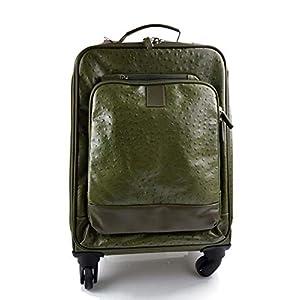 Leder reisekoffer troller grun leder reisetasche manner damen mit griff leder tasche reise tasche sporttasche mit 4…