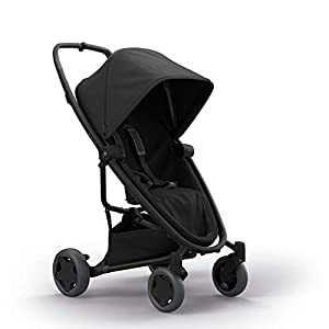 Quinny Zapp Flex Plus Urban Pushchair, Flexible and Compact, Two-Way Reclining Seat, 6 Months to 3.5 Years, Black on Black Babystyle  3