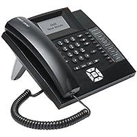 Auerswald COMfortel 1200 IP - Teléfono (Teléfono analógico, Altavoz, 300 entradas, Identificador de llamadas, Negro)