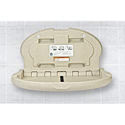 Koala Kare KB208-14 Sandstone Horizontal Oval Baby Changing Station by Koala Kare