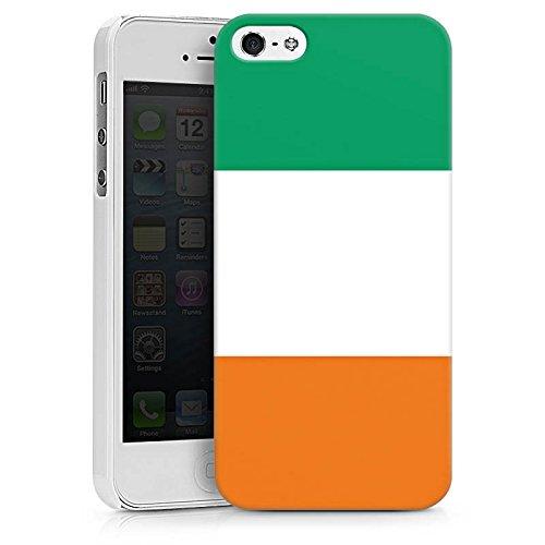 Apple iPhone X Silikon Hülle Case Schutzhülle Elfenbeinküste Flagge Fußball Hard Case weiß