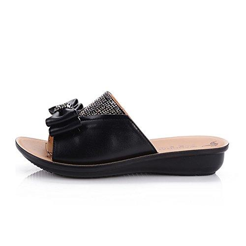 Chaussures de maman/ sandales vieux/Femelles antidérapantes chaussons à la fin d'un mot C