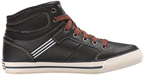 Skechers Planfix Bowen, Jungen Hohe Sneakers Schwarz (Blk)
