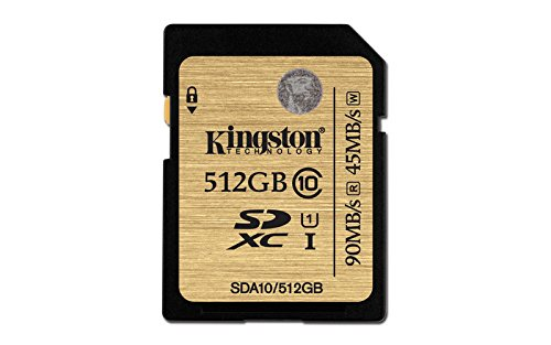 Kingston SDA10/512GB UHS-I SDHC/SDXC SD-Karte Klasse 10 Speicherkarte (Kingston Micro-sd-karte Mit Von 128)
