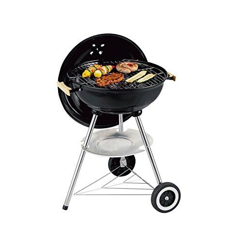 Harper BQC17 Barbecue à charbon HARPER 6 personnes Noir