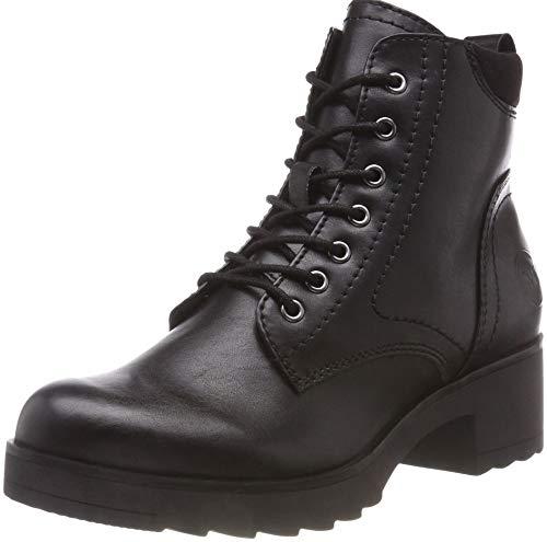 MARCO TOZZI Damen 2-2-25262-21 002 Combat Boots, Schwarz (Black Antic, 38 EU