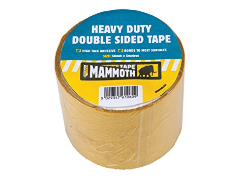 Everbuild EVB2HDDST50 Heavy-Duty Double Sided Tape 50 mm x 5 m, Set of 36 Test